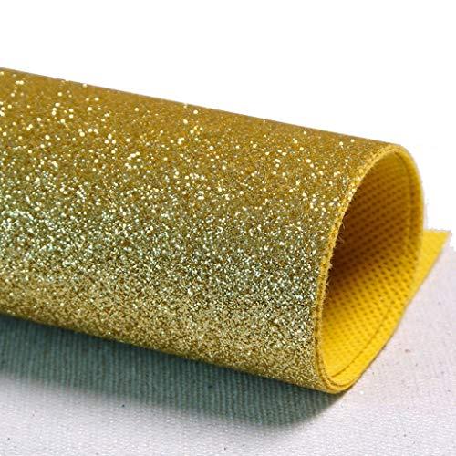 L&Y Teppich- Gangläufer Schimmer Pailletten Stoff Hochzeit Floor Runner, Glitter Carpert Runner Non-Slip Mat (Color : Gold-1, Size : 1.4m×5m)