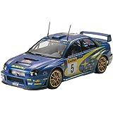 Tamiya 300024240 - Maqueta de coche de rally Subaru Impreza Wrc 2001 (escala 1:24), color azul