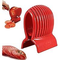 DIVISTAR - Cortador de cebollas de Tomate para Verduras, Cortador de Frutas, Patata, limón, Herramienta de Cocina