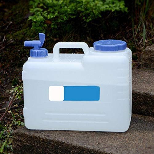 Leiyini 15L Auto Eimer Wasserkanister Tragbar Wasserbehälter Wassertank Trinkwasser Behälter für Wandern Camping Picknick Travel