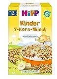 HiPP Bio-Müsli, Kinder 7-Korn-Müsli ab 12.Monat, DE-ÖKO-037, Art.Nr. 3533-02 - VE 200g