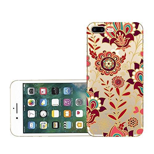 Custodia iPhone 7 plus Qissy® TPU Cover iPhone 7 Plus 5.5 pollici Custodia Bumper Morbida Crystal Clear Silicone elefante per Apple i Phone 7 Plus 6