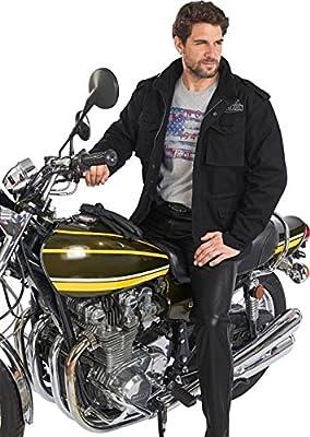 King Kerosin Speedforce Bikerjacke schwarz