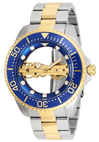 Invicta 26243 Pro Diver Reloj para Hombre acero inoxidable Manual Esfera azul