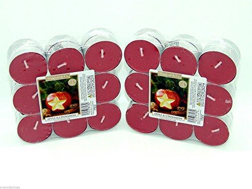 Wickford & Co. Teelichter, Duft Apfel und Zimt, 36 Stück