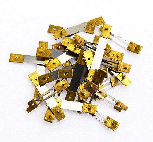 francese orologio x 10/unit/à in ottone Blocco assortiti a pendolo molle di sospensione