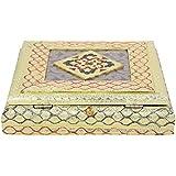 Craft Zone Dry Fruit Box, Serving Tray, Decorative Platter, Beautiful Snack Box With Meenakari Work(28 Dry Fruit Box)
