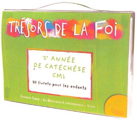 Trésors de la Foi : Pochette enfant - CM1 (10 livrets + 1 CD audio)
