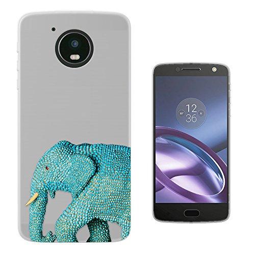 c00905-cool-wildlife-blue-indian-african-elephant-tusks-design-motorola-moto-g5-fashion-trend-protec