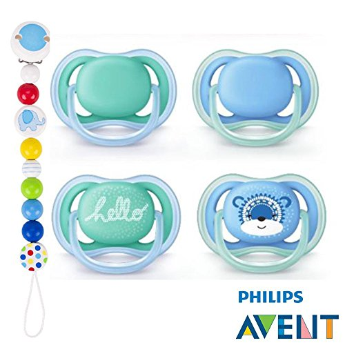 Philips AVENT Ultra Soft Air Chupete 6-18Snow