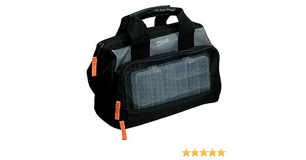 mit Kleinteilfach Watski Werkzeugtasche aus Stoff Werkzeugkoffer