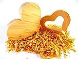 Herzen aus Zirbenholz - Deko Set