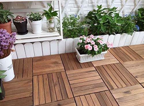 1pc Antikorrosions-Holzfußboden , Korrosionsschutzholz im Freien Holzfußboden im Freien ,...