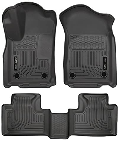 2016 Dodge Durango - All Weather Technology Floor Liners by Husky Liners ( Weatherbeater Series Front And Second Rows - Black ) by JuicedHybrid