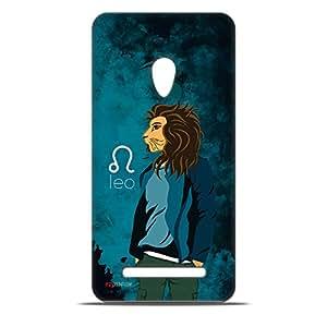 ezyPRNT Animated Leo (Male) Hard Back Case For Asus Zenfone 5