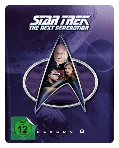 Star Trek - Next Generation/Season 6 Collectors Edition (Steelbook) [Blu-ray]