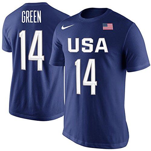 Draymond Green #14 Nike USA Basketball Olympics Shirt XXL 2XL (Nike Olympic Usa)