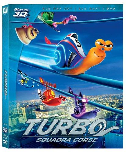 Turbo[Blu-ray + 3D + DVD] [IT Import]
