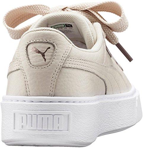 Puma Platform Kiss Donna Sneaker Beige Naturel