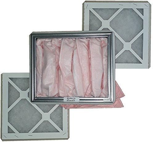 Ersatzfilter Set G3/F7 zu KWL 350-2x Vorfilter G3, 1x Feinfilter F7 - alternativ zu ELF-KWL 350/3/3/7 - Ersatzfilterset 3-teilig mit Dichtungen -