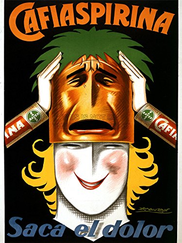 advertising-medicine-aspirin-bayer-argentina-woman-mask-smile-poster-print-18x24-inch-lv976