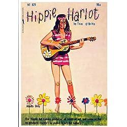 Hippie Harlot Póster de película Retro libro para 11x 17en-28cm x 44cm
