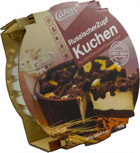 Cakees Russischer ZupfKuchen, fertig gebacken, 2er Pack (2 x 500 g)