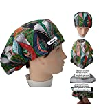 Cap of surgery. Quirofano. ETHNIC. FOR LONG HAIR. Nursing, Dentists. VETERINARY. KITCHEN. etc. Towel on the forehead. Tensor and rear rubber. CUSTOMIZED WITH A NAME FOR FREE. Put it in options.