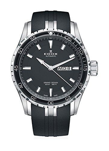 EDOX–Orologio da polso uomo Grand Ocean Data Giorno della settimana automatico 88002–3ca di Nin