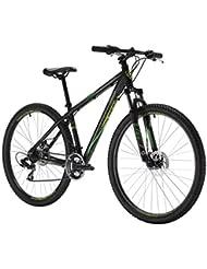 """Bicicleta de Montaña Modelo SIERRA de 27.5"""" con Suspension y 2 Frenos de Disco montada en Shimano MTB 5374226"""