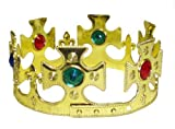 SIX CROSS GOLD KINGS CROWN