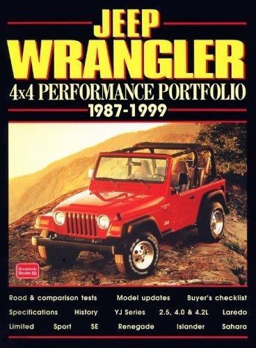 Jeep Wrangler: 4x4 Performance Portfolio 1987-1999 by Clarke, R.M. (1999) Paperback