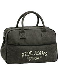 Pepe Jeans Graves Bolsa de Viaje, 29.79 Litros, Color Gris