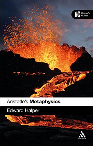 Aristotle's Metaphysics [paperback] Edward C. Halper [Jan 01, 2017]