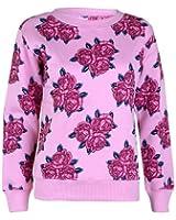 Womens Floral Print sweatshirts