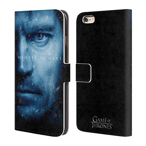 Officiel HBO Game Of Thrones Jon Snow Winter Is Here Étui Coque De Livre En Cuir Pour Apple iPhone 5 / 5s / SE Jaime Lannister