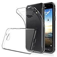 Samsung Galaxy Xcover 4 Case, Simpeak Soft TPU Transparent Fit Protector Case for Samsung Galaxy Xcover 4 5.0