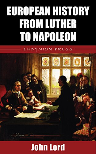 European History from Luther to Napoleon book cover