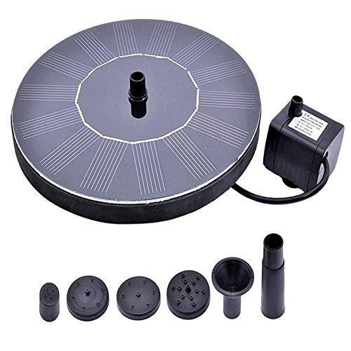 Solarstrompumpe, Solarpanel-Set, Wasserpumpe für Gartenterrasse, Bewässerung
