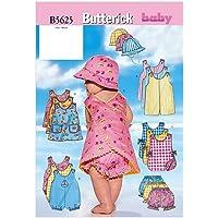 Butterick B5625LRG - Patrones de costura para confeccionar ropa de bebé (tallas L-XL)
