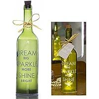 Boxer - SB1105 botella de sueños de luz de estrellas, cristal, ...