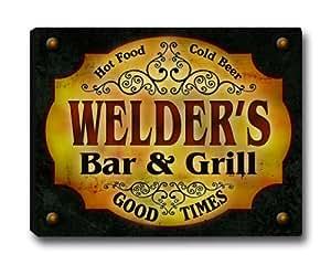 SOUDEUSE Bar Grill familial & Impression sur toile tendue