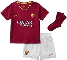 AS Roma Babykit Home 2019/20, Nike, Divisa da Calcio, Completo Unisex Bambini