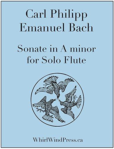 C.P.E Bach, Solo Flute Sonate in A minor