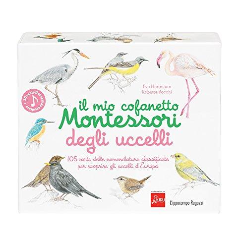Il mio cofanetto Montessori degli uccelli por Ève Herrmann