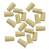 Baoblaze 20 Unids de Tapón de Botella en Forma Cónico de Madera Suitable para Casas de Pájaros - Para la botella de vino rojo