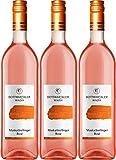 Bottwartaler Winzer Basic (Cuprum) Muskattrollinger Rosé 2017 Lieblich (3 x 0.75 l)
