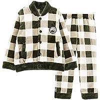 GJX Inizio bambini corallo pigiama in pile di spessore ragazzi Vergini flanella abbigliamento per l'autunno / inverno Set