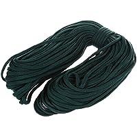 TOOGOO(R) 100 pies 550 Cuerda Cordon de paracaidas Cordon de supervivencia de paracaidas ¨C Verde de ejercito
