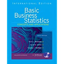 Basic Business Statistics: Concepts and Applications and CD package: International Edition (Pie)